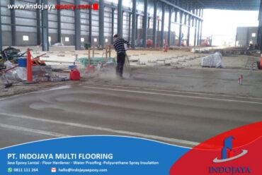 Rekomendasi Jasa Floor Hardener Palembang Terpercaya