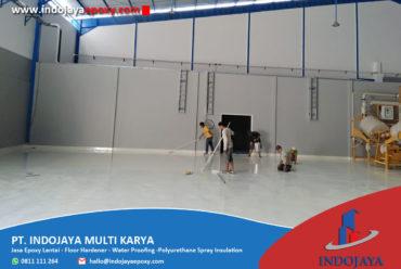 Lantai Bangunan ini Menggunakan Epoxy Lantai Surabaya Lho!