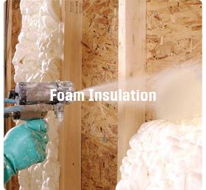 jasa Foam insulation - Menu