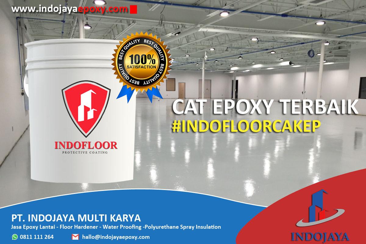 Cat Epoxy Terbaik Indofloor