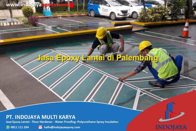 Jasa Pengecatan Epoxy Lantai Terpercaya di Palembang