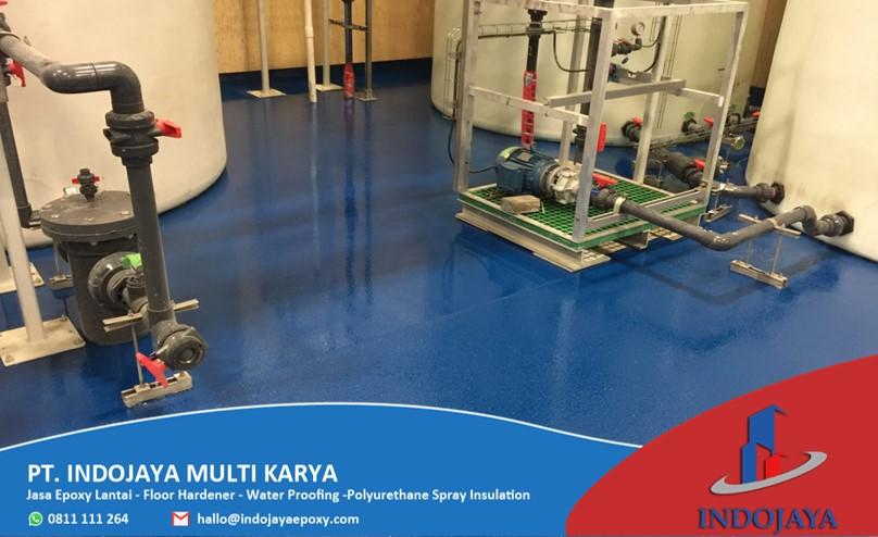 jasa epoxy lantai Water Treatment Plant 2